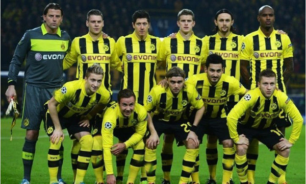 Borussia-Dortmund-10-M-GOTZE-home-Yellow-jerseys-soccer-Uniforms-shorts-kits-2013-Champions-League-Jerseys