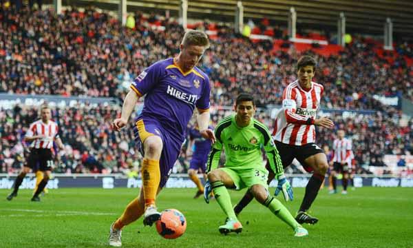 Oscar+Ustari+Sunderland+v+Kidderminster+Harriers+znWwpV0pPjnl