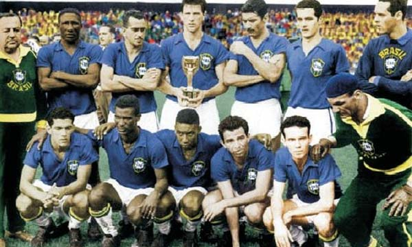 Brasil campeón Suecia 1958