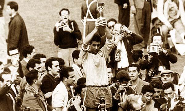 Brasil campeón en Chile 1962