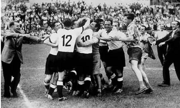 Alemania campeón Suiza 1954