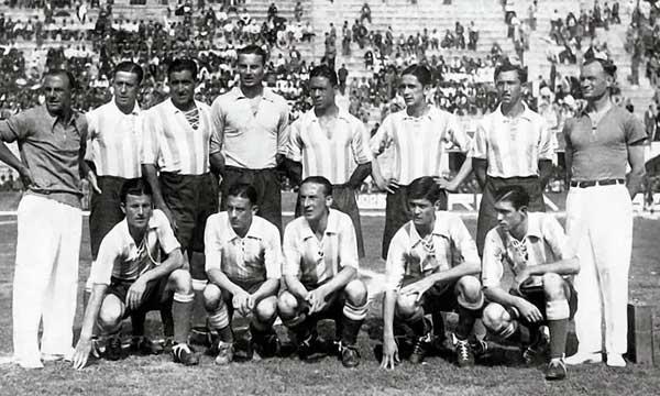 Argentina en el Mundial 1934
