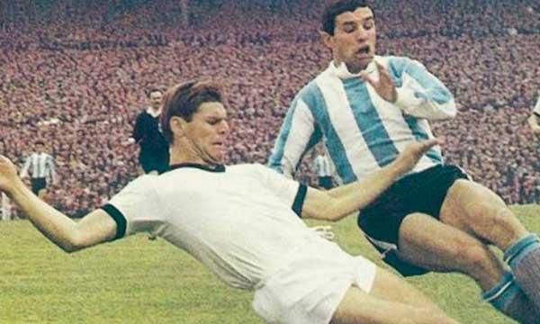 Argentina Alemania en Suecia 1958
