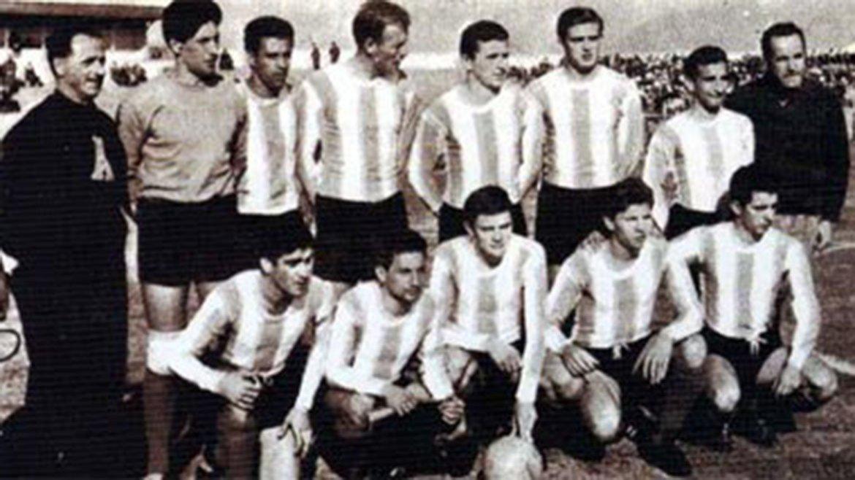 Argentina frente a Bulgaria en Chile 1962