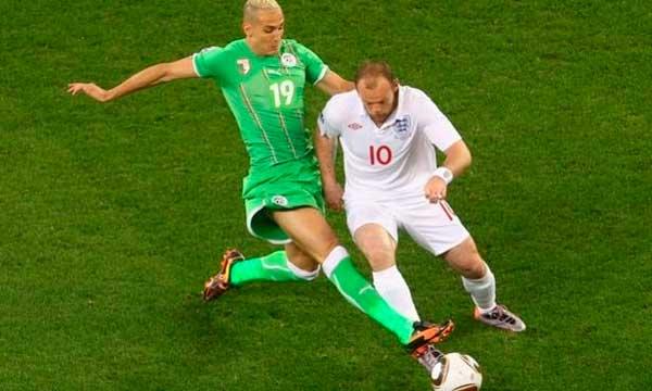Argelia Inglaterra en Sudáfrica 2010