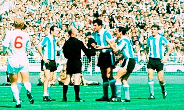 Argentina Inglaterra 1966