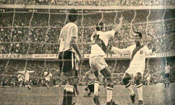 Argentina Perú en La Bombonera
