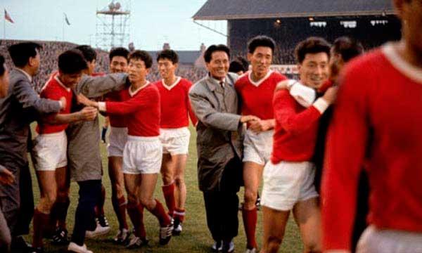 Corea del Norte Italia en Inglaterra 1966