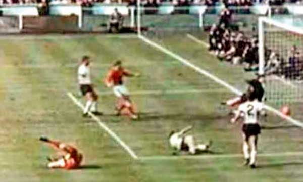 Gol fantasma Alemania Inglaterra 1966