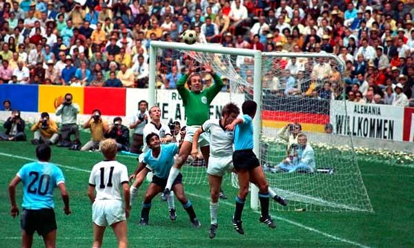 Uruguay Alemania 1970