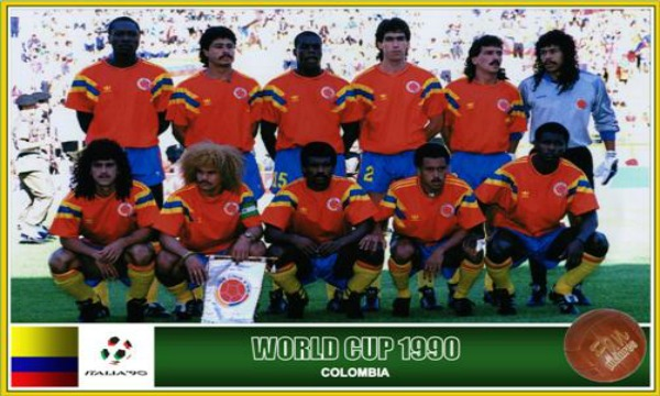 1990 COLOMBIA 2X0 A EMIRATOS ÁRABES.