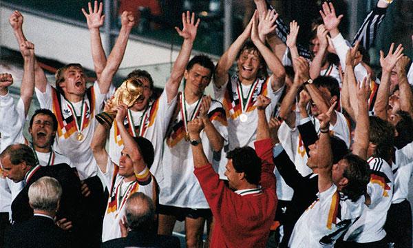 Alemania campeón italia 1990