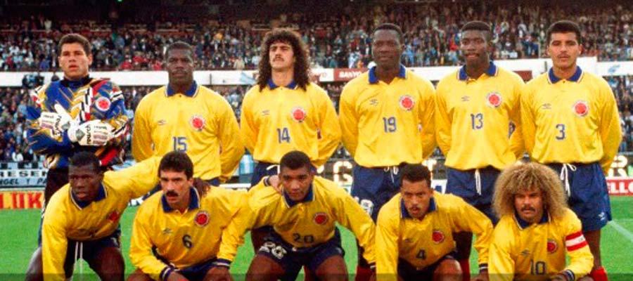 los 32 de brasil colombia la red243