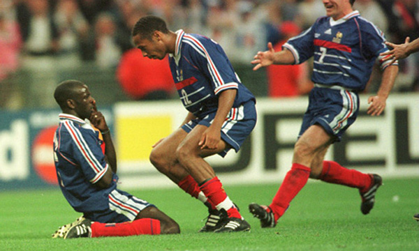 Soccer - World Cup France 98 - Semi Final - France v Croatia