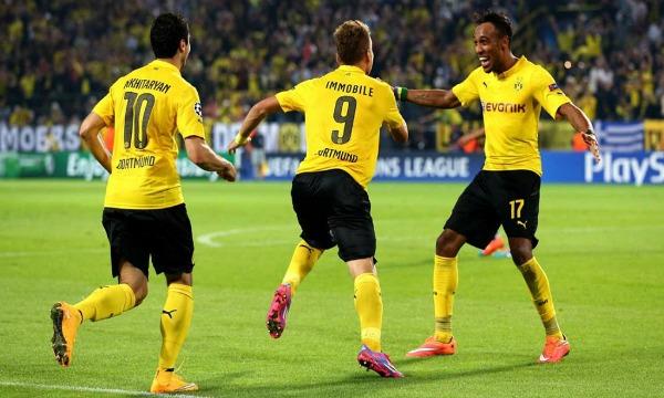 Borussia-Dortmund-Arsenal-Champions