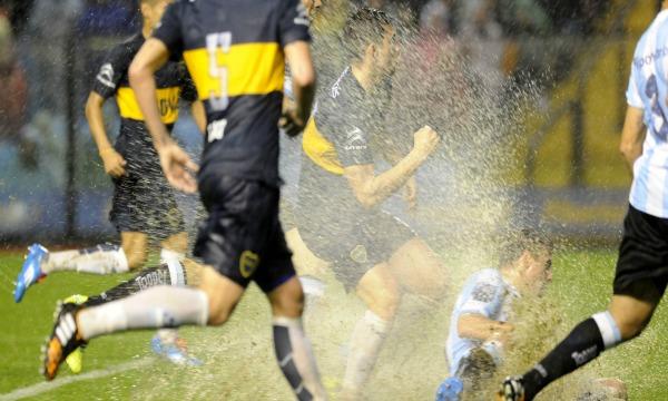 DYN805, BUENOS AIRES 14/09/14,  BOCA VS RACING..FOTO:DYN/CARLOS GRECO.