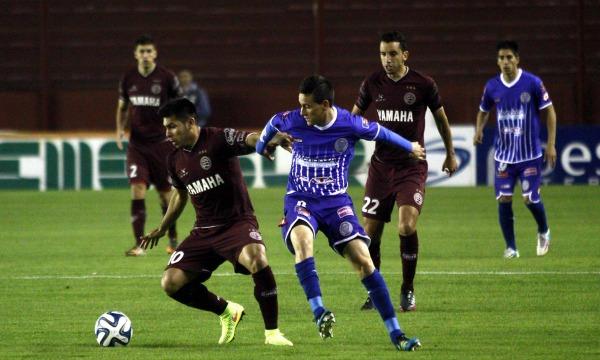 DYN102, BUENOS AIRES 10/10/2014, LANUS VS. GODOY CRUZ. FOTO: DYN/ALBERTO RAGGIO
