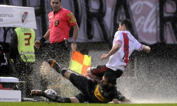 DYN55, BUENOS AIRES 05/10/2014, RIVER VS BOCA.FOTO.DYN/CARLOS GRECO.